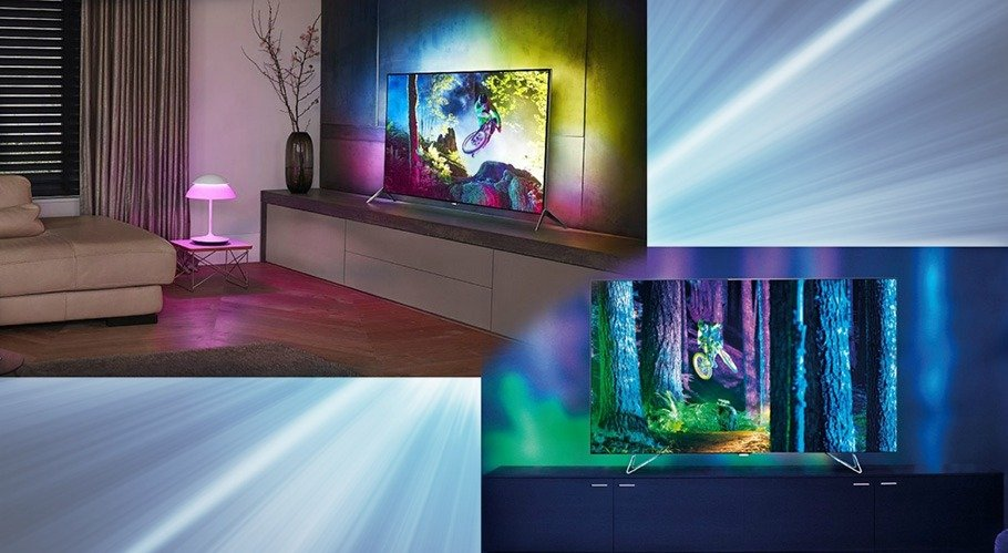 philips ambilight fernseher zu hause in aller ruhe ausprobieren. Black Bedroom Furniture Sets. Home Design Ideas