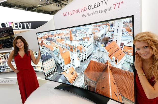Bringt Lg Einen 75 Zoll Oled Tv Auf Den Europäischen Markt