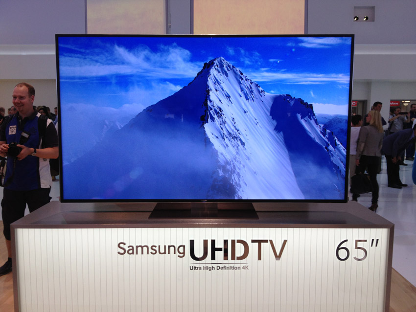 samsung ultrahd tv 65zoll ultra hdtv. Black Bedroom Furniture Sets. Home Design Ideas